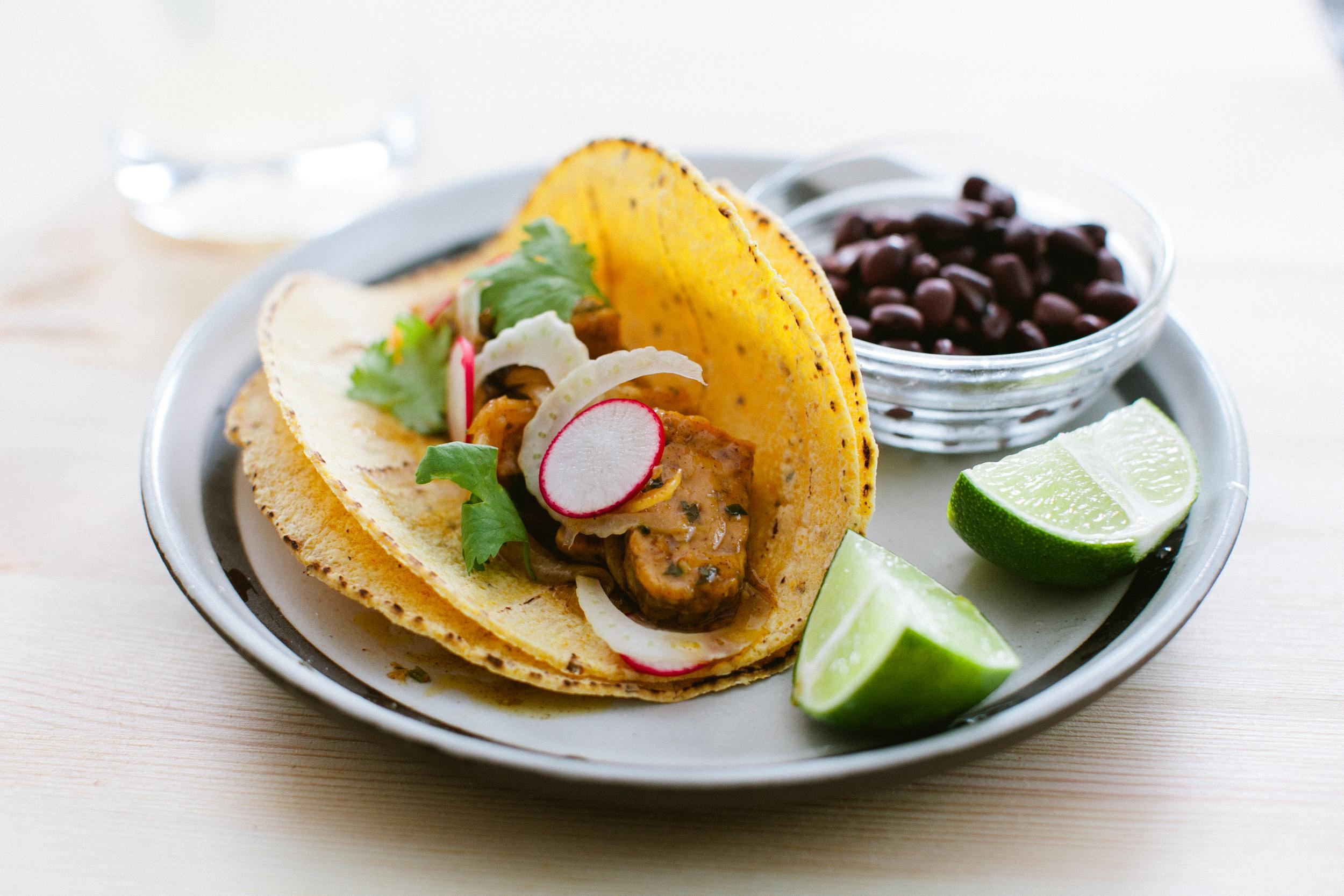 Jamaican Jerk Tempeh Tacos
