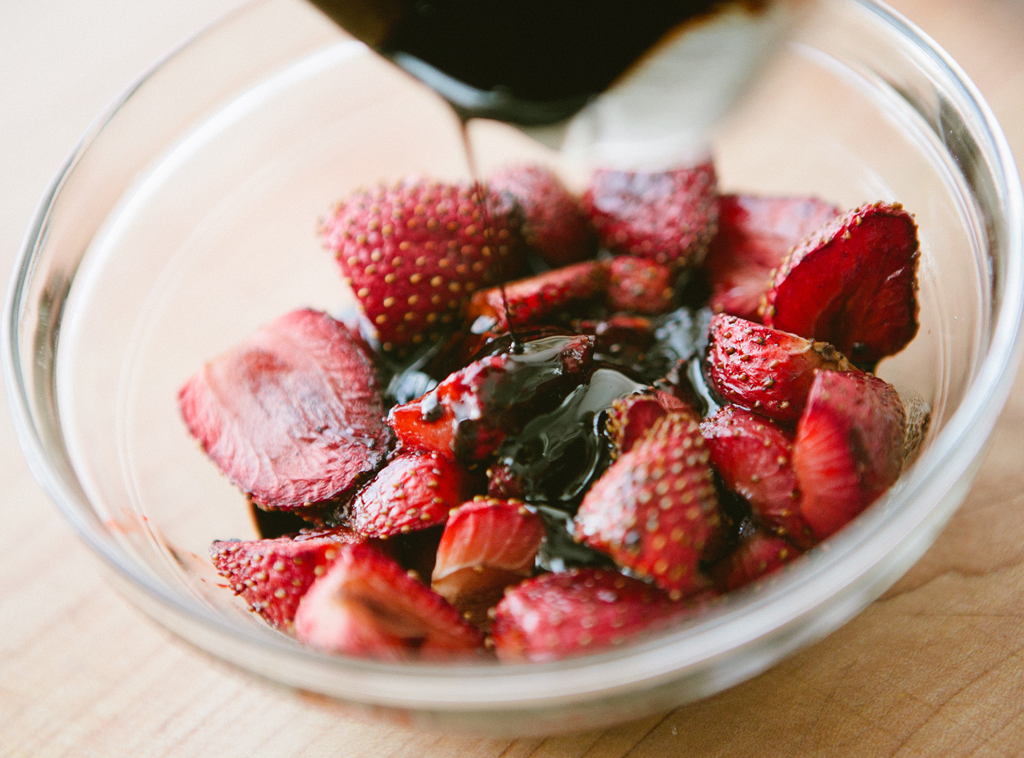 Balsamic Roasted Strawberry Sauce
