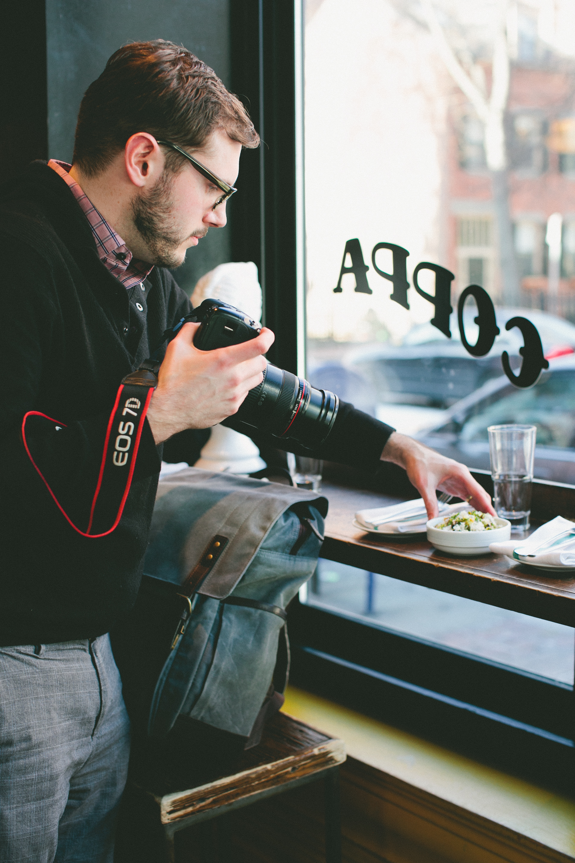 Showin' Some Love: My ONA Camera Bag | A Thought For Food |