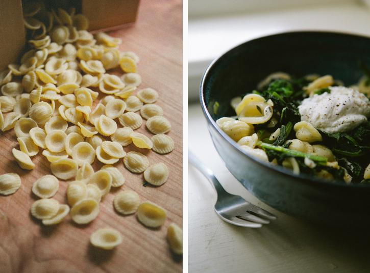 Pasta with Broccoli Rabe and Lemon Ricotta