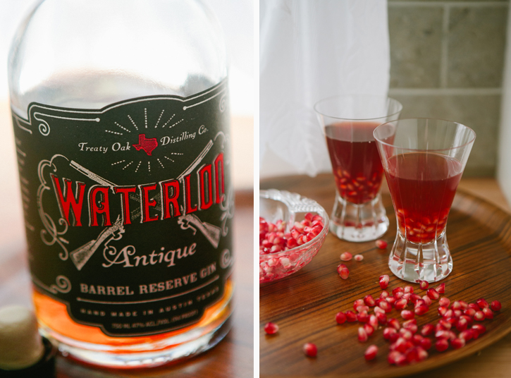 Pomegranate Manhattan - A Thought For Food