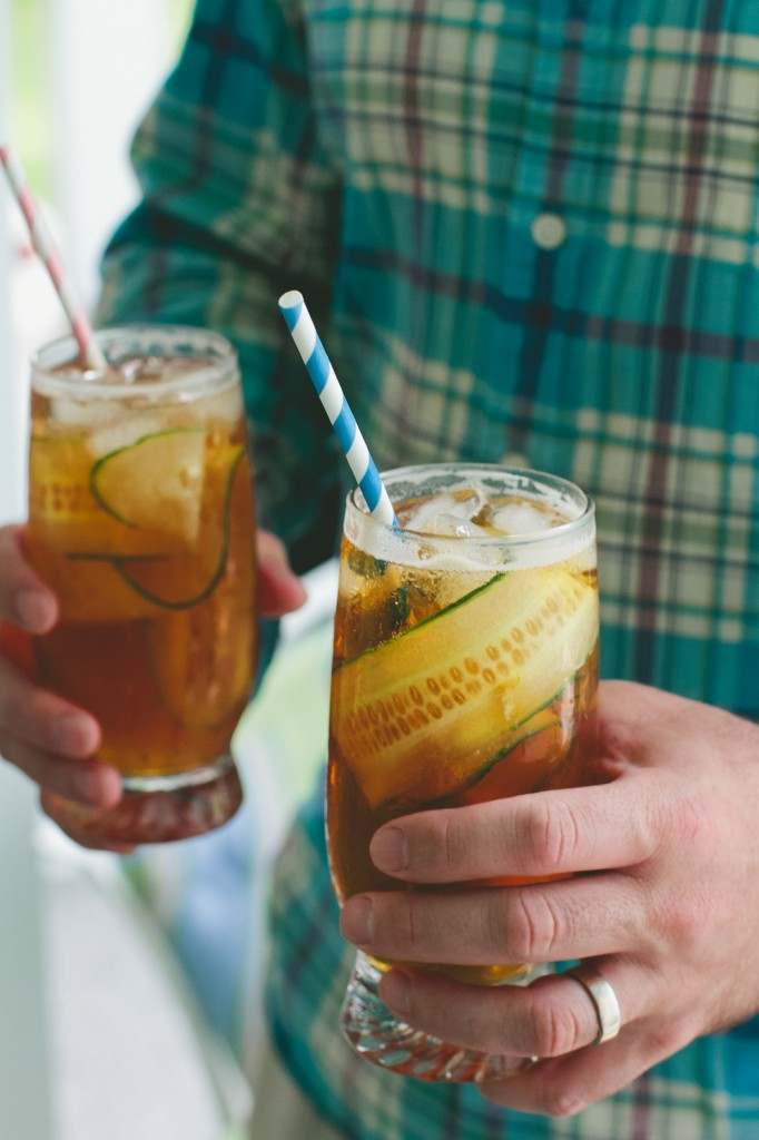 Pimm's and Tonic