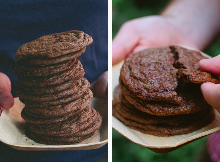 Spiced Double Chocolate Cookies