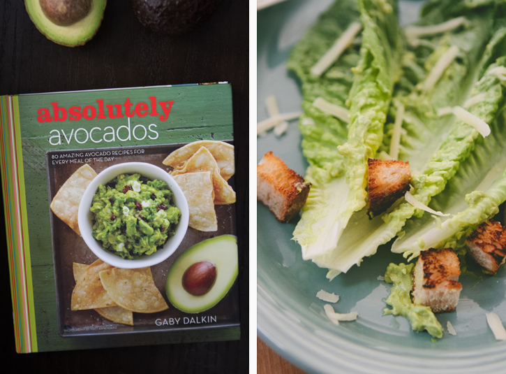 Caesar Salad with Avocado Dressing from Gaby Dalkin's Absolutely Avocados
