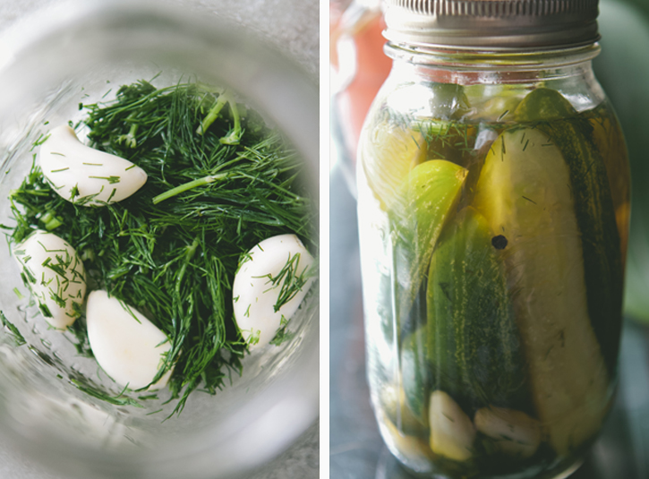 Dill Pickles from A Thought For Food