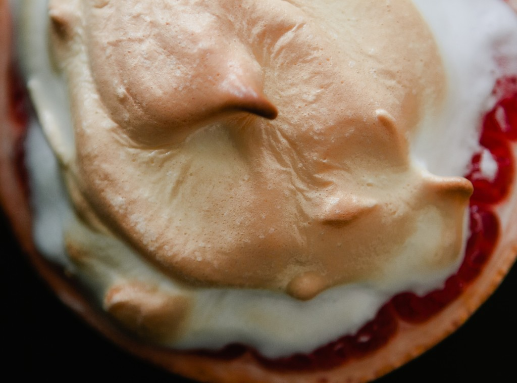 Meringue Topped Baked Grapefruit from A Thought For Food #recipe
