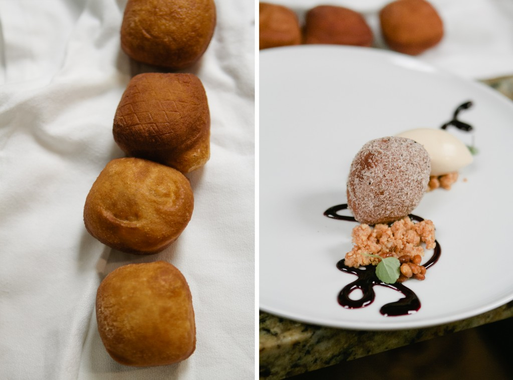 Olive Donuts from Chef Monica Glass of Clio - A Thought For Food #Boston