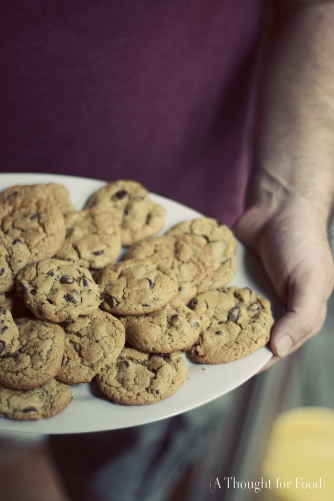 Gluten Free Chocolate Chip Cookies via A Thought For Food - www.athoughtforfood.net