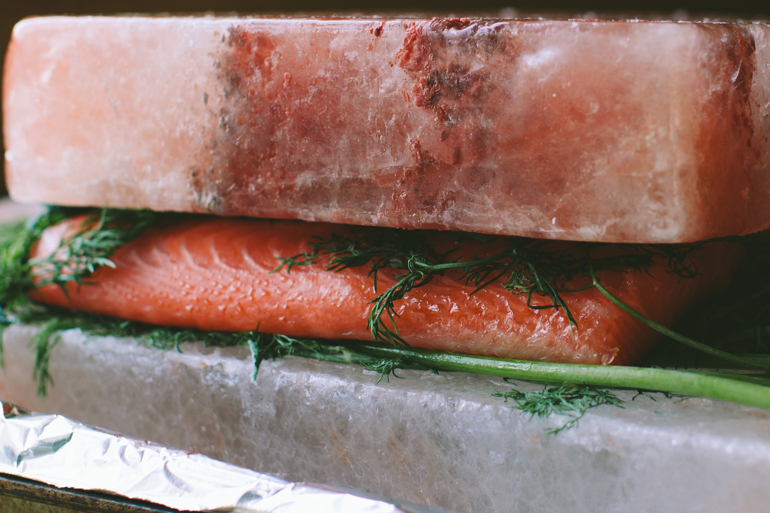 Homemade Gravlax (Cured Salmon) from A Thought For Food - www.athoughtforfood.net