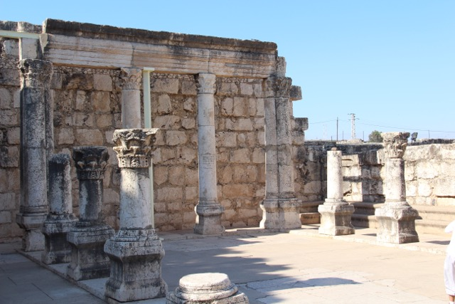 Family Focus Lesson #1, Capernaum Synagogue2.jpg