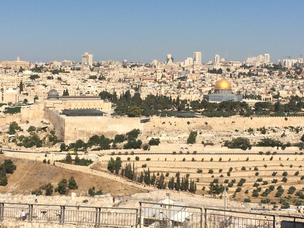 TEMPLE MOUNT with Dome of the Rock Visible