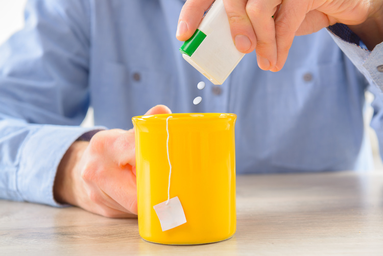 Artificial sweeteners can be a solid method of dealing with sweet cravings.