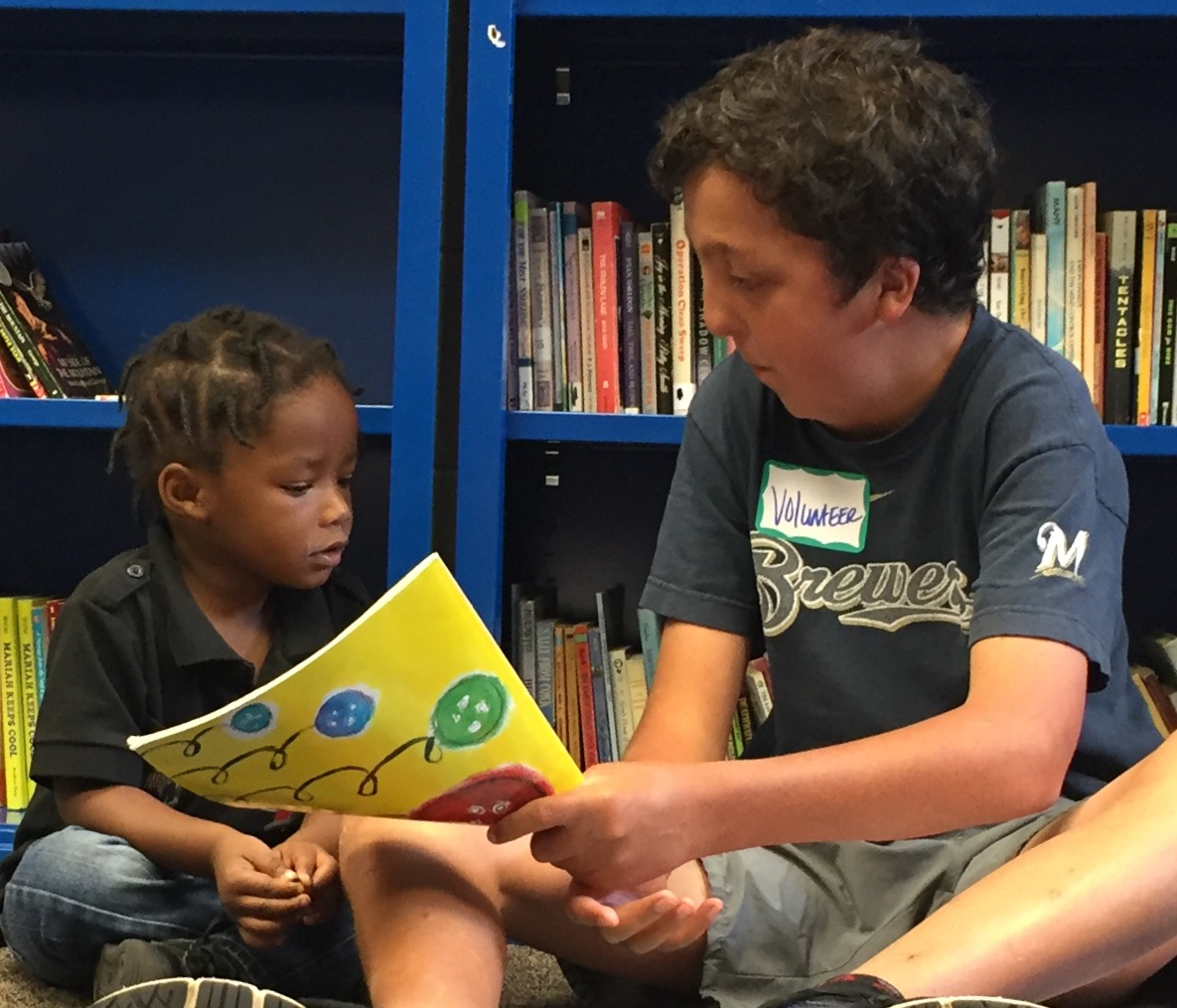 """""""Read With Me"""" at Next Door Foundation in Milwaukee."""