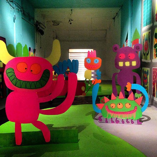 @bortuskleer & @dotdotdot for #nuartfestival #monster #rollergate #streetart #Stavanger