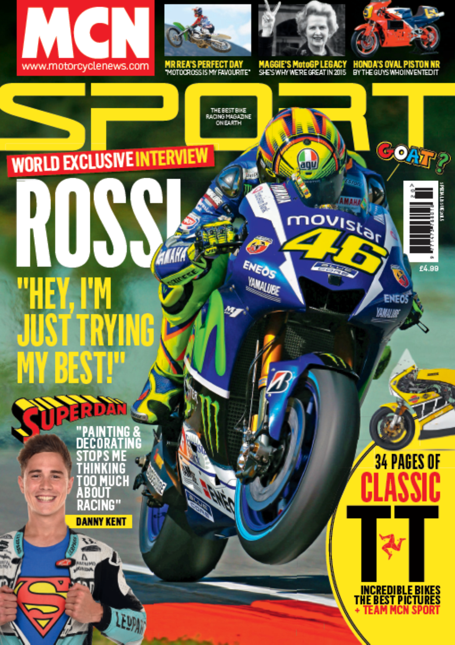 MCN Sport Special issue 2015