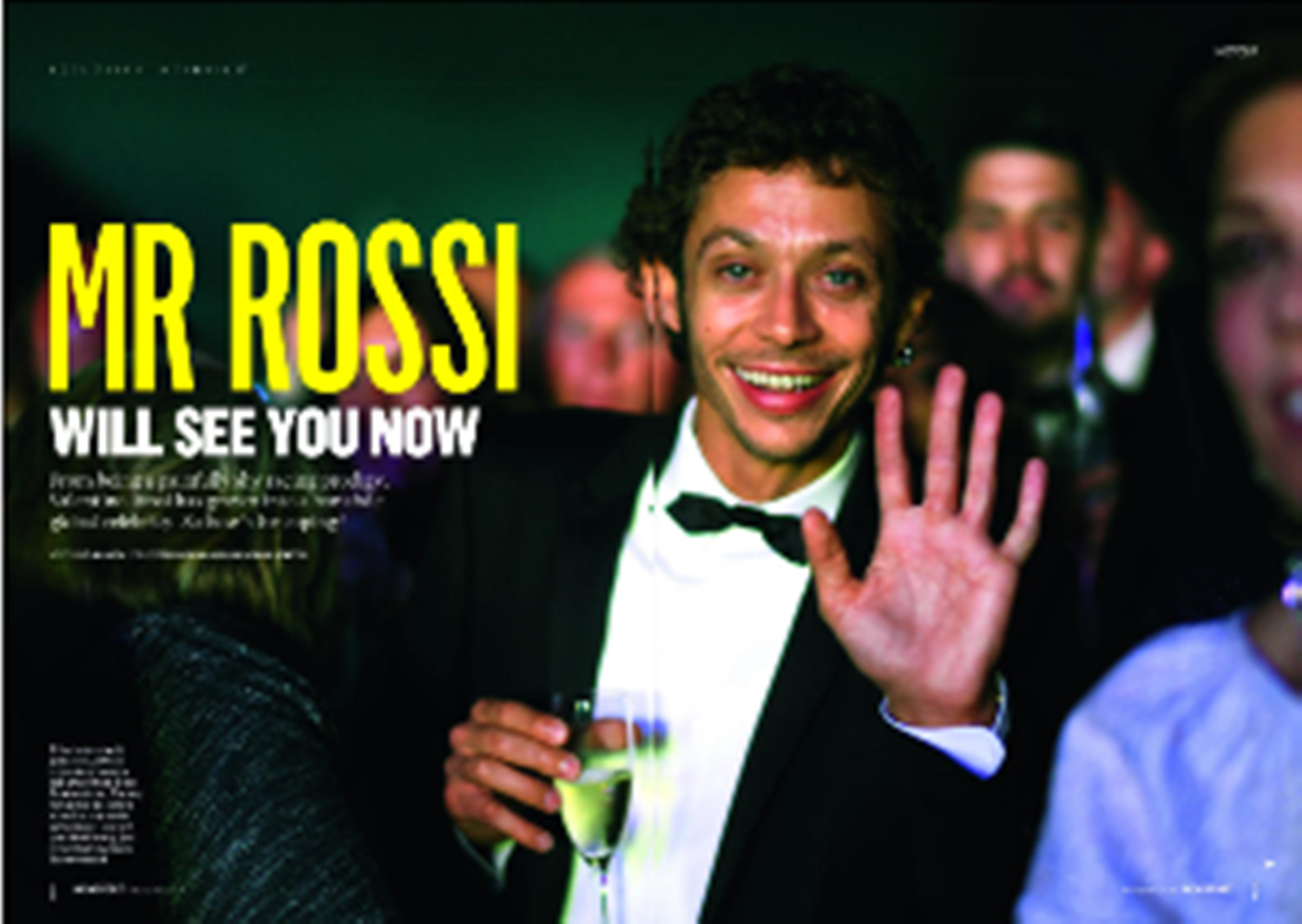Mr Rossi will see you now