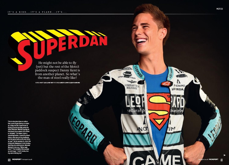 Danny Kent: Superdan