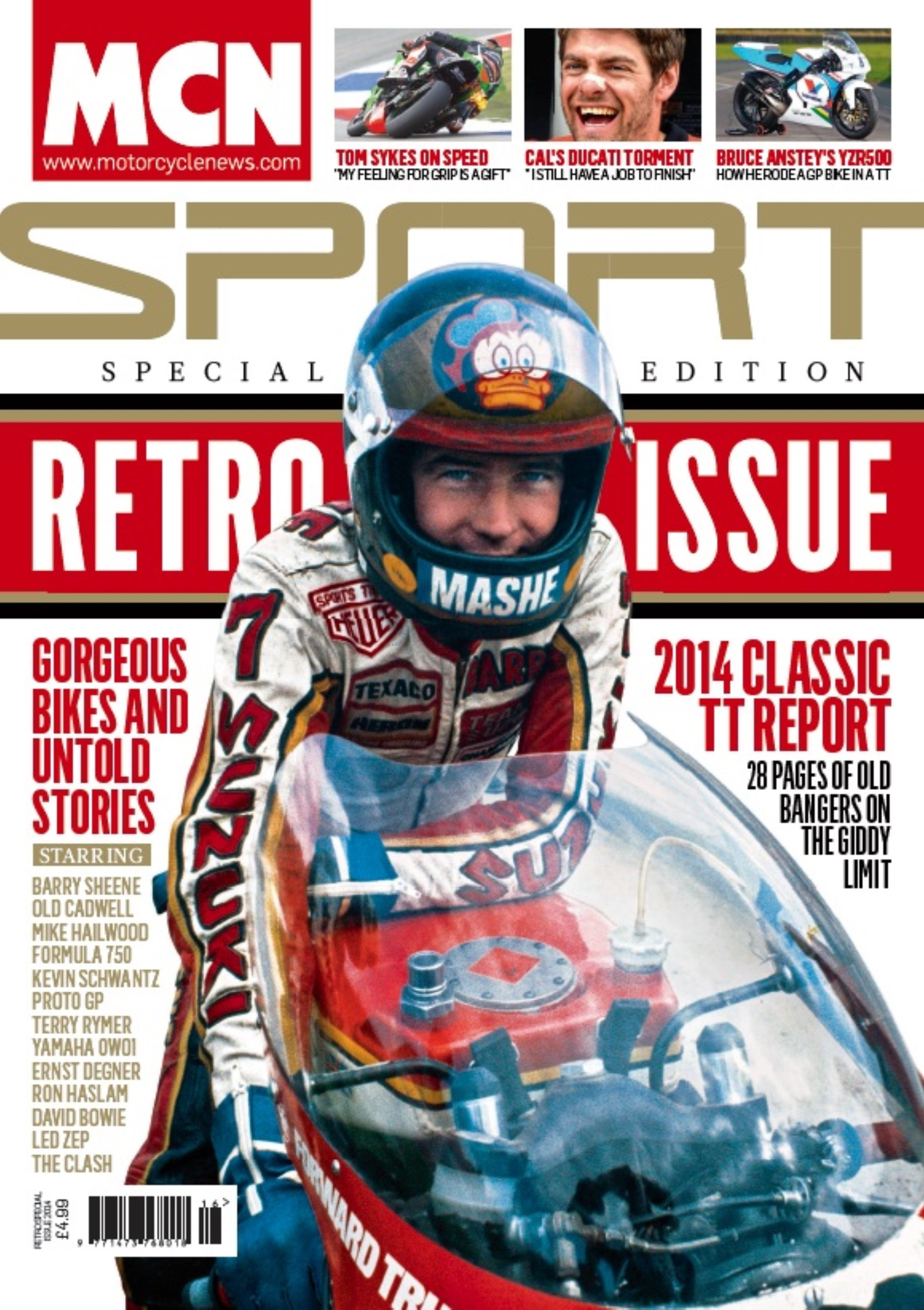 MCN Sport Retro issue 2014