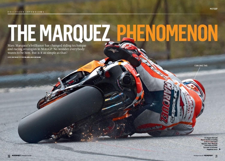 The Marc Marquez phenomenon
