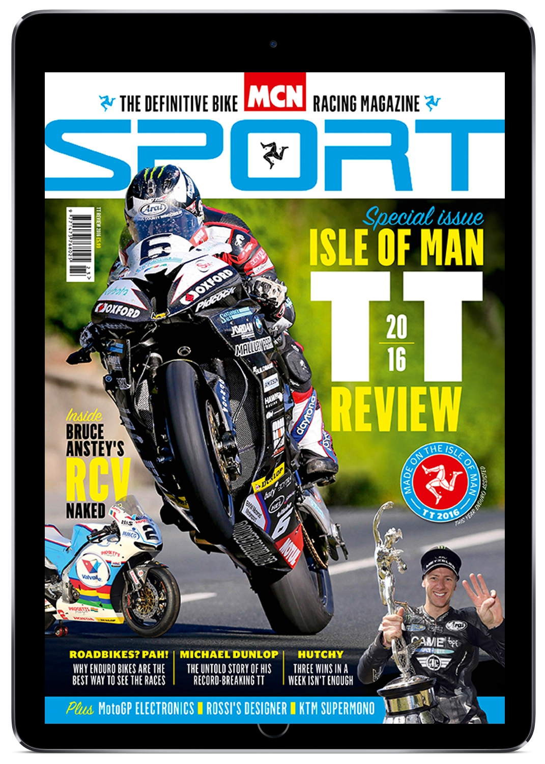 MCN Sport digital edition is available on iPad and Android.