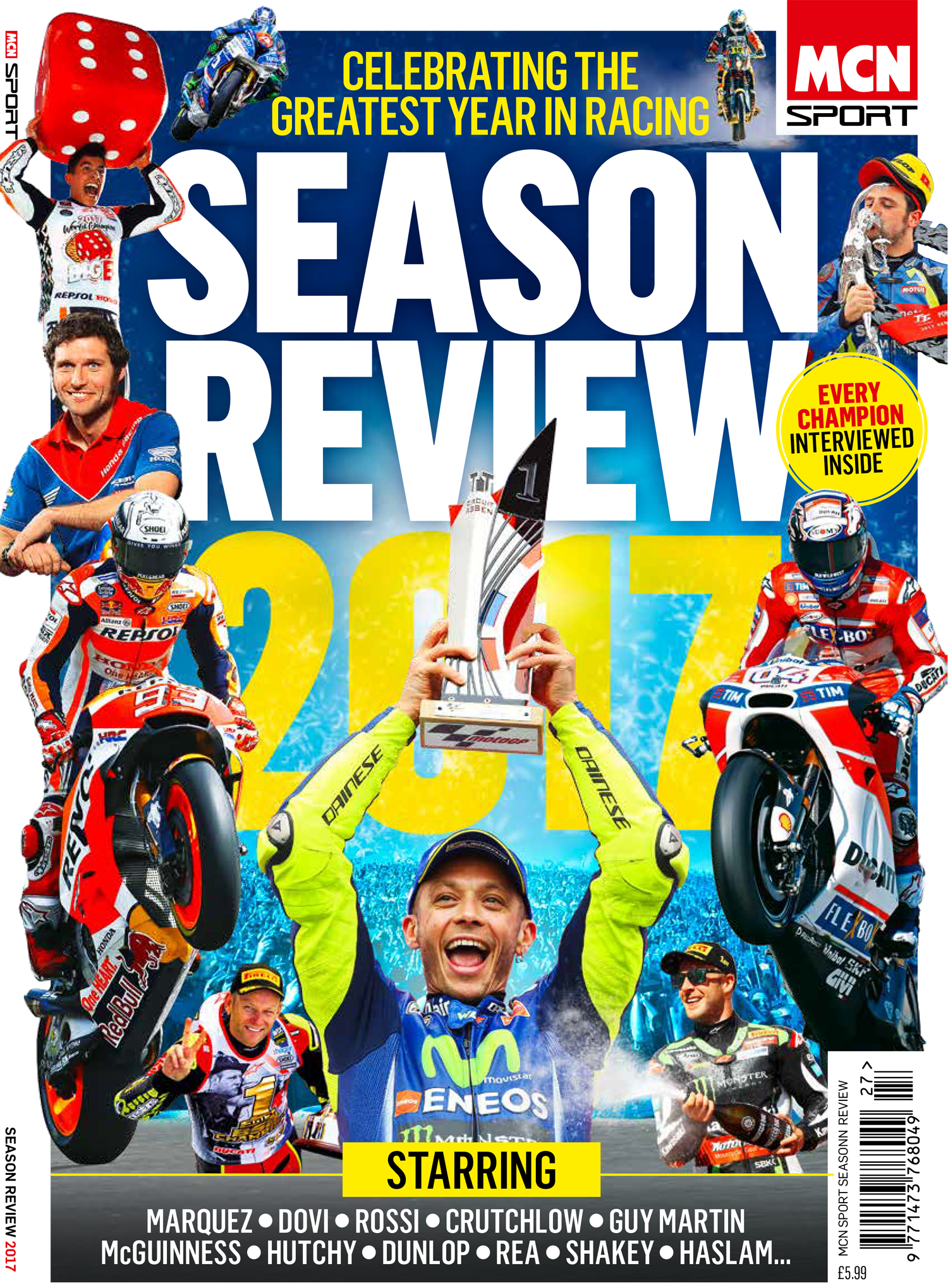 MCN Sport Season Review 2017 issue is out now!
