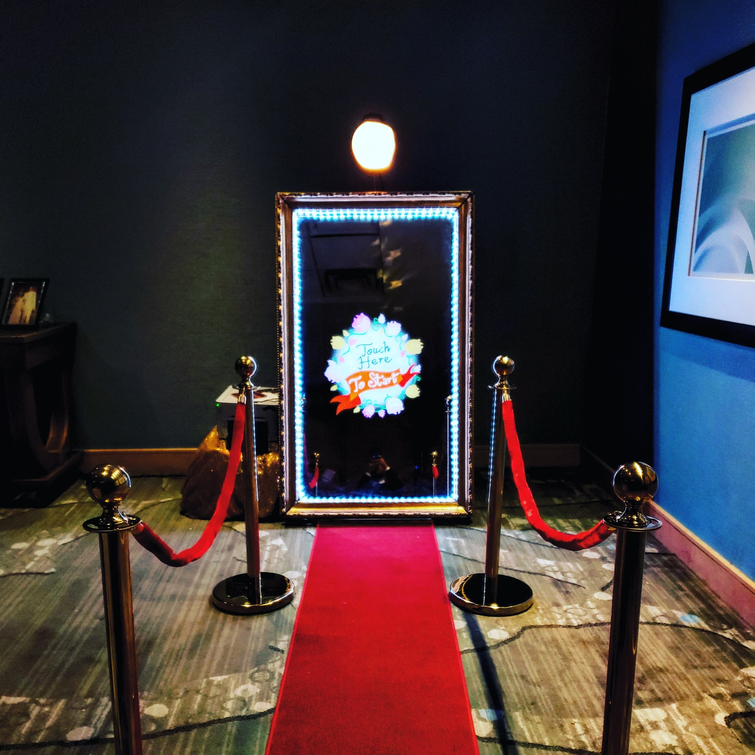 The Mirror Me Booth NEW- Click to Find out More