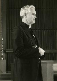 Msgr. Don Hellman - First Catholic president