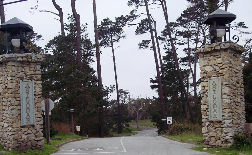 Entrance to Asilomar Conference Grounds