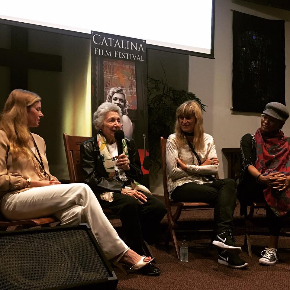 Left to Right: Cady McClain, Marcia Nasatir, Catherine Hardwicke, Tamika Lamison.