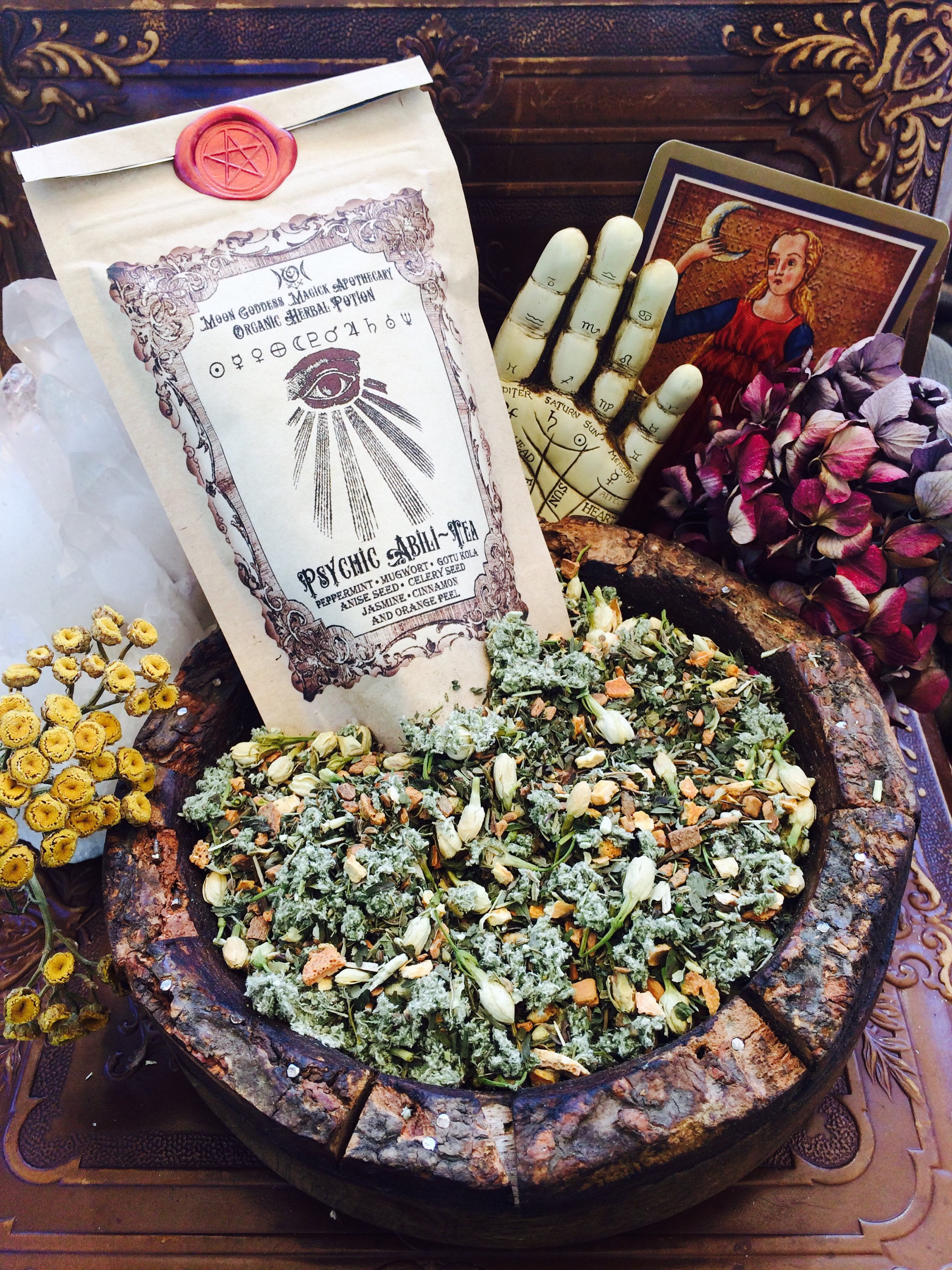 Awaken your third eye...  Psychic Tea by  MoonGoddessMagick