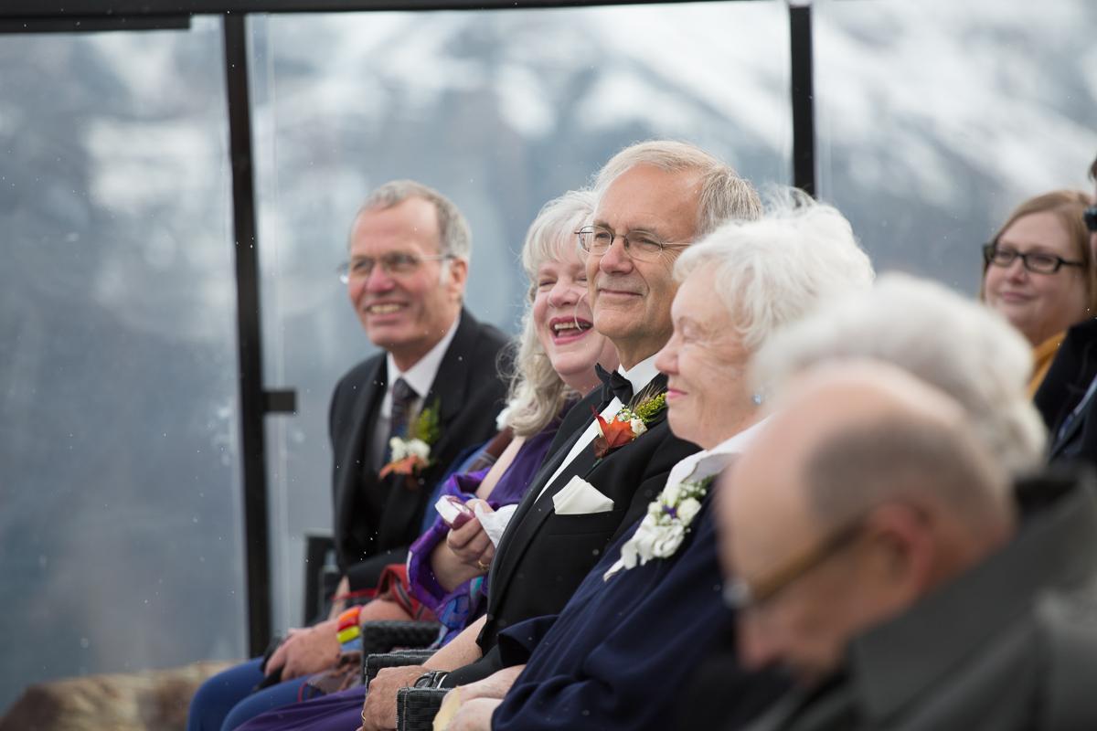 Kicking Horse Resort Wedding Ceremony