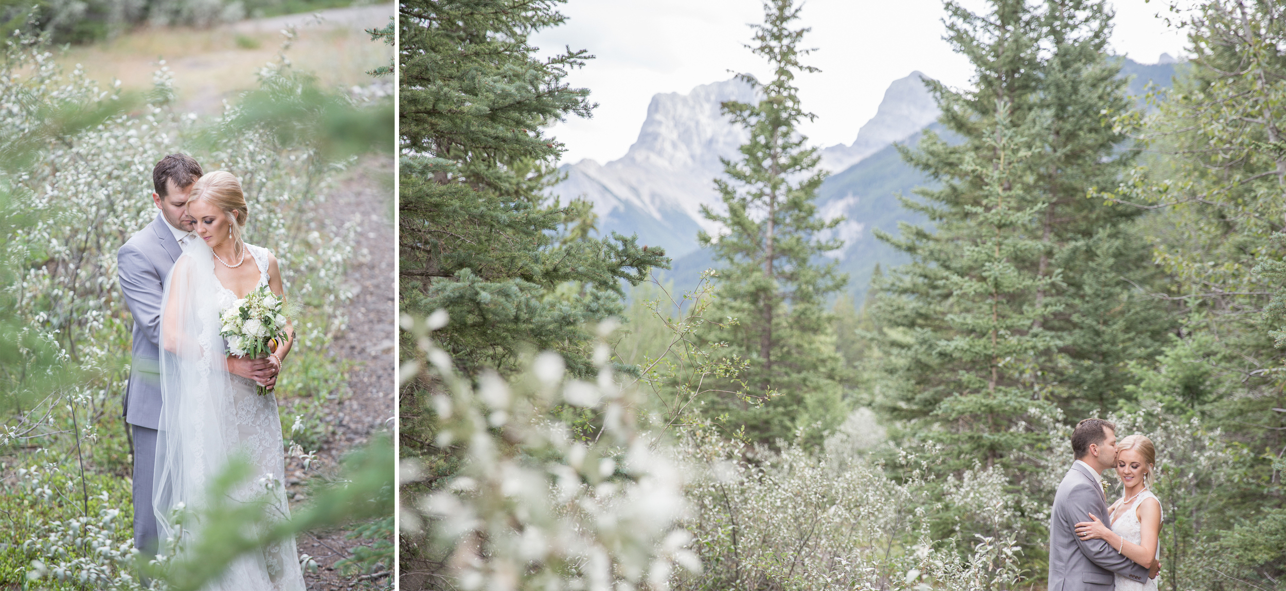 rocky mountain canmore wedding photography
