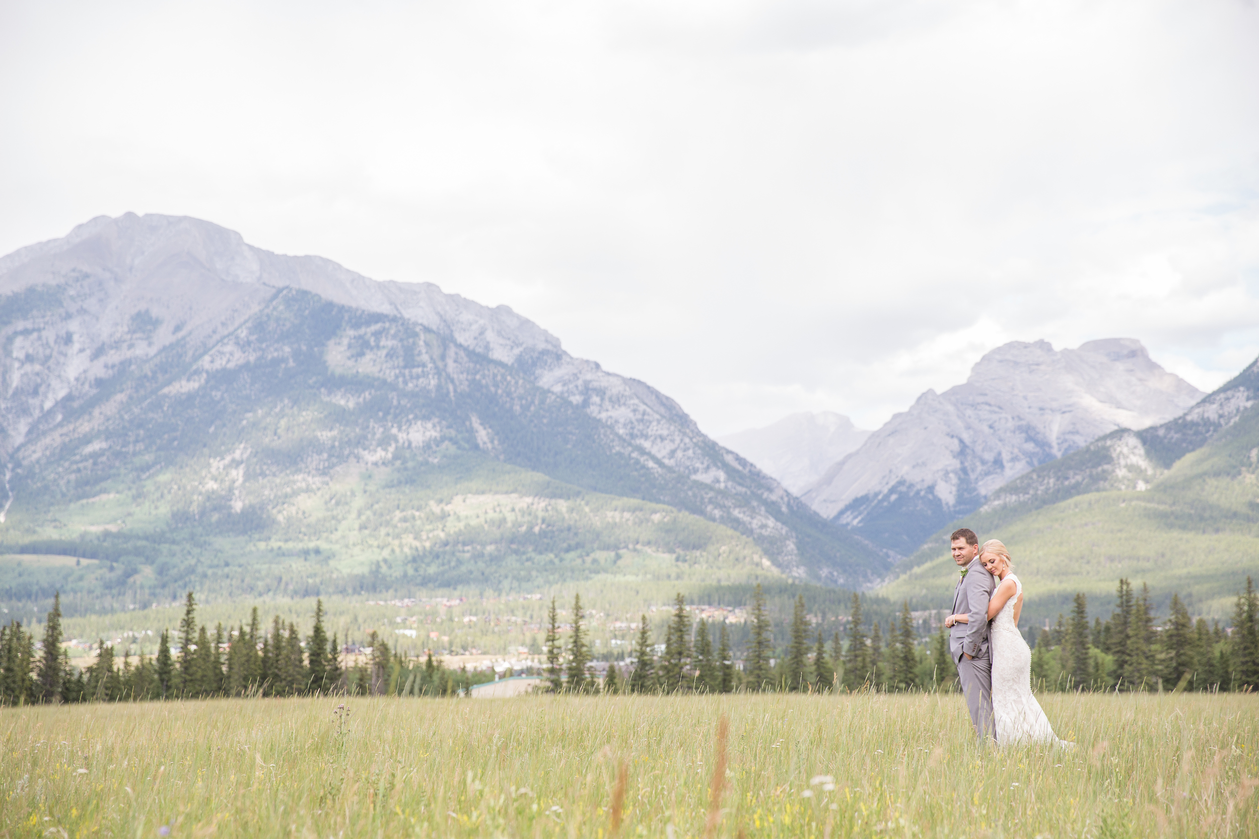 Canmore wedding photography mountains