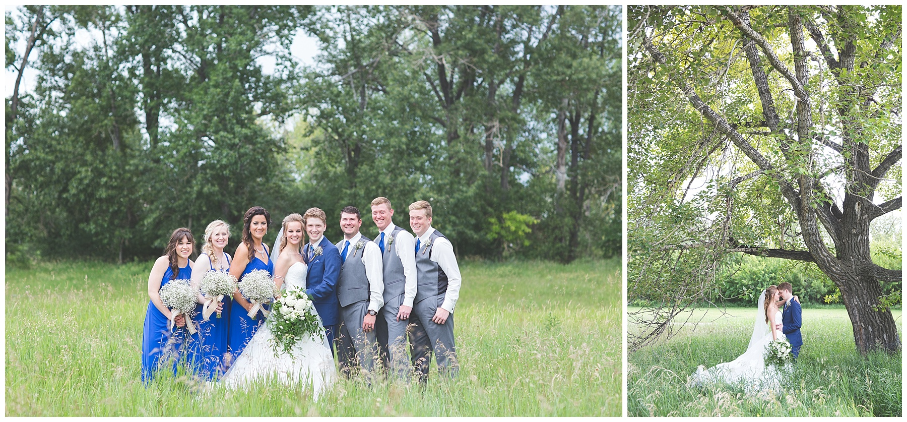 Wedding Photography in Carburn Park, Calgary