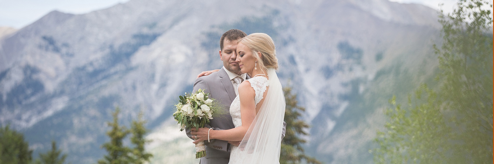 quarry lake wedding photograph