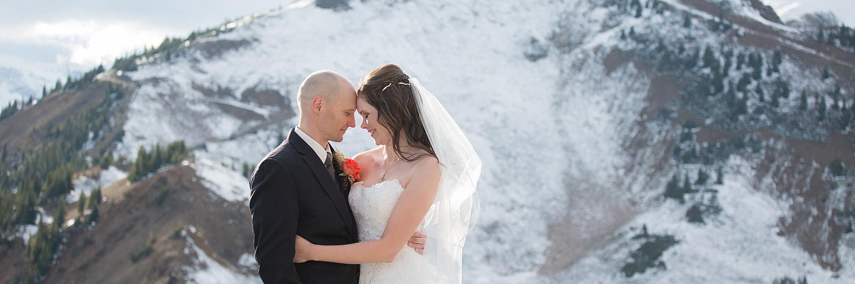 Kicking Horse Resort Wedding Photograph