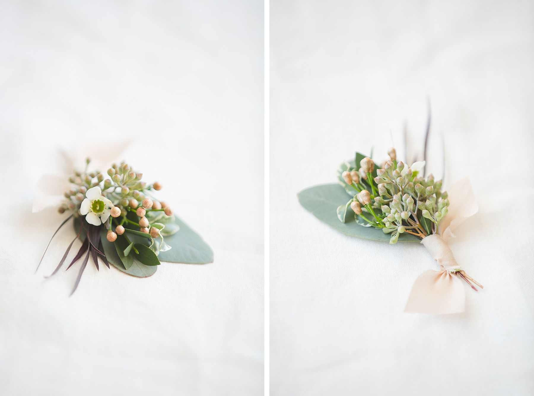 wedding style inspiration boutonnieres Social & Co Events