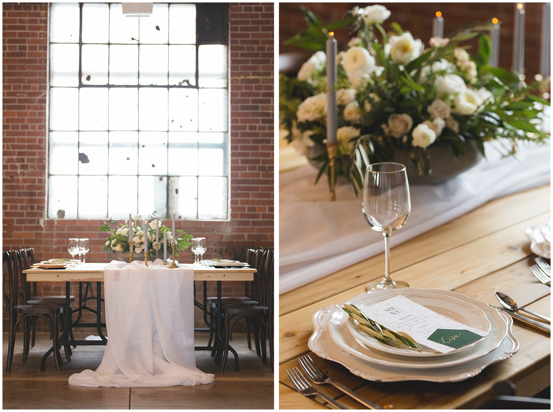 Industrial Well Styled Wedding Inspiration at The Commons Calgary