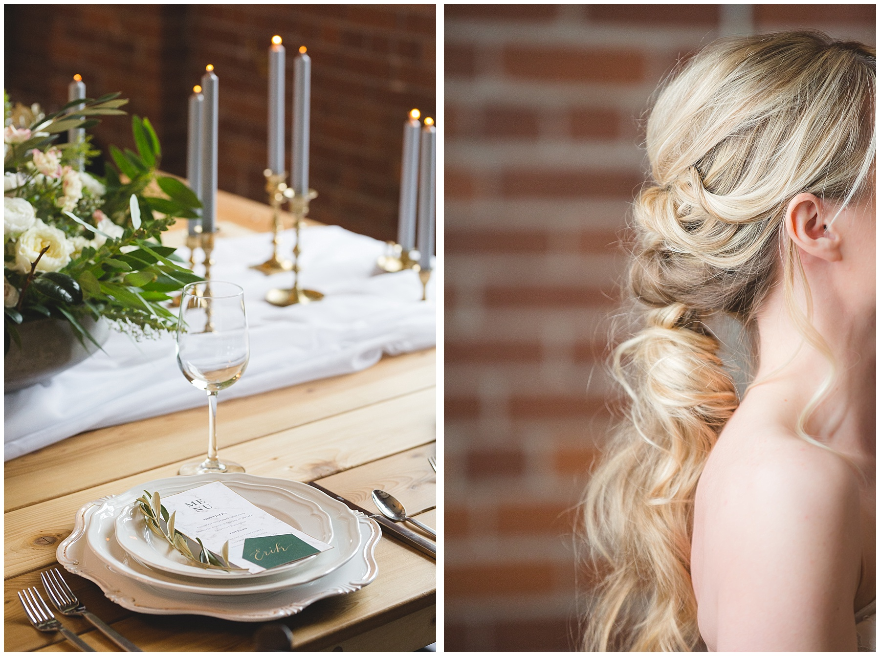 Romantic Wedding Hair Style Inspiration by Katie Kerr Calgary
