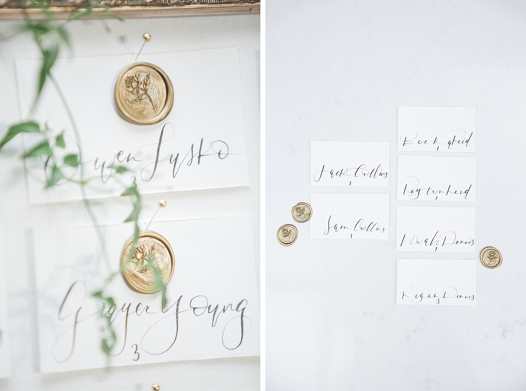 Romantic Wedding Style Inspiration with Social & Co Weddings Calgary - Seating Charts