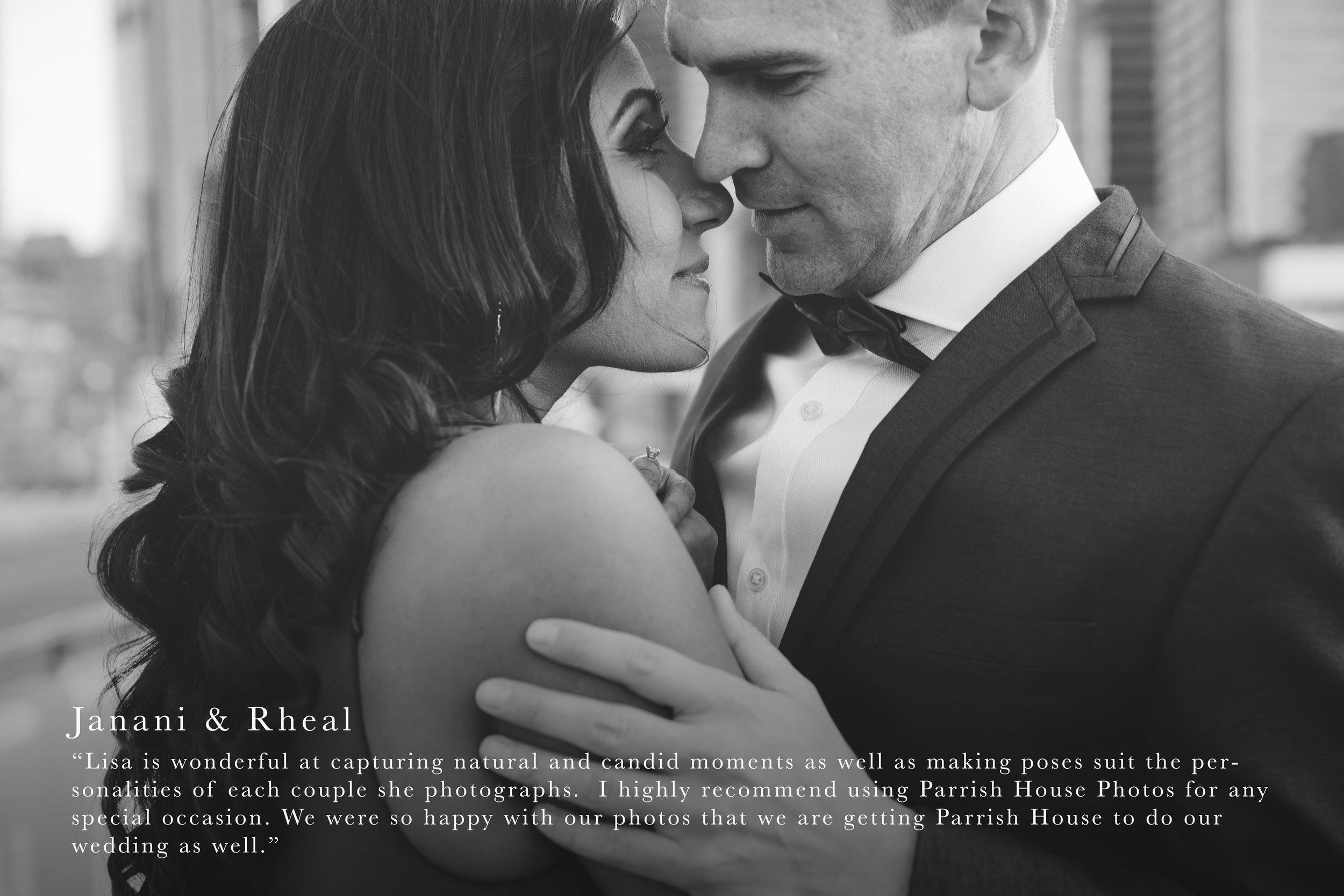 Wedding Photography Review - Janani & Rheal