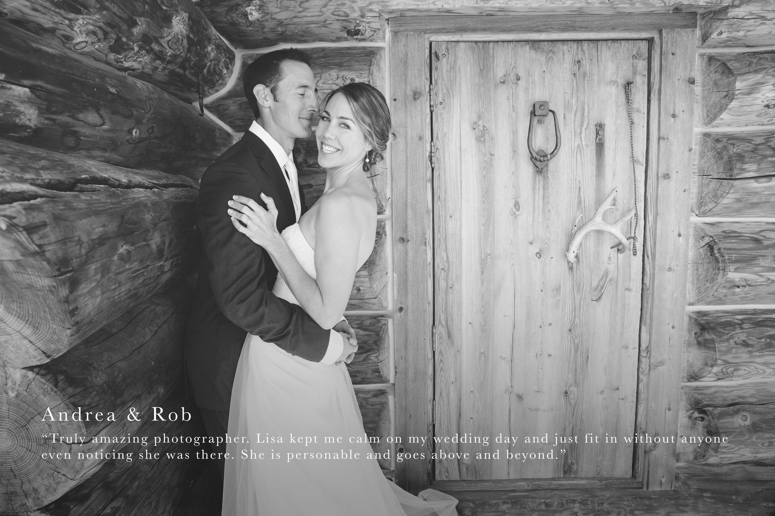 Wedding Photography Review - Andrea & Rob