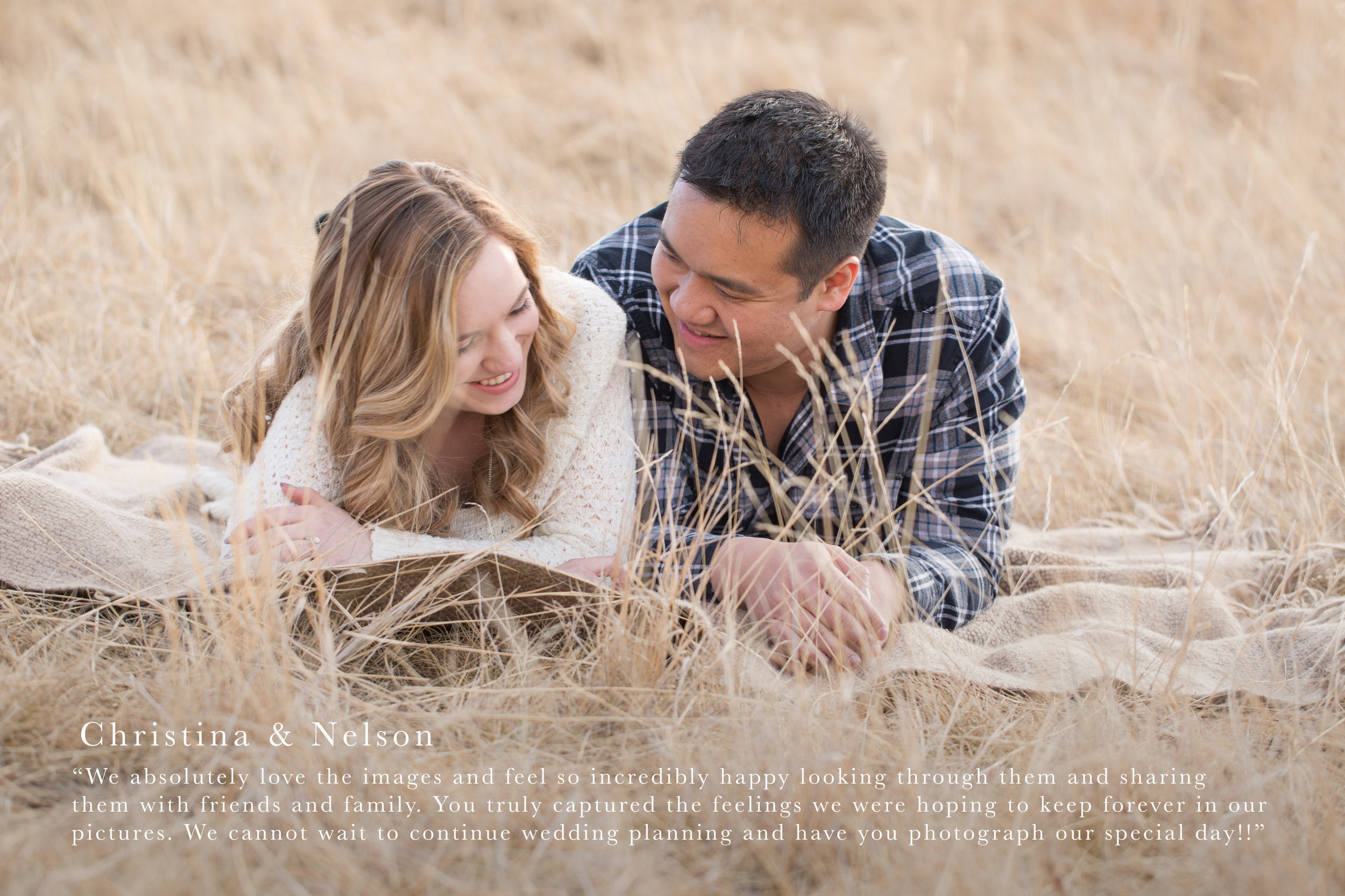 Engagement Photography Review - Christina & Nelson