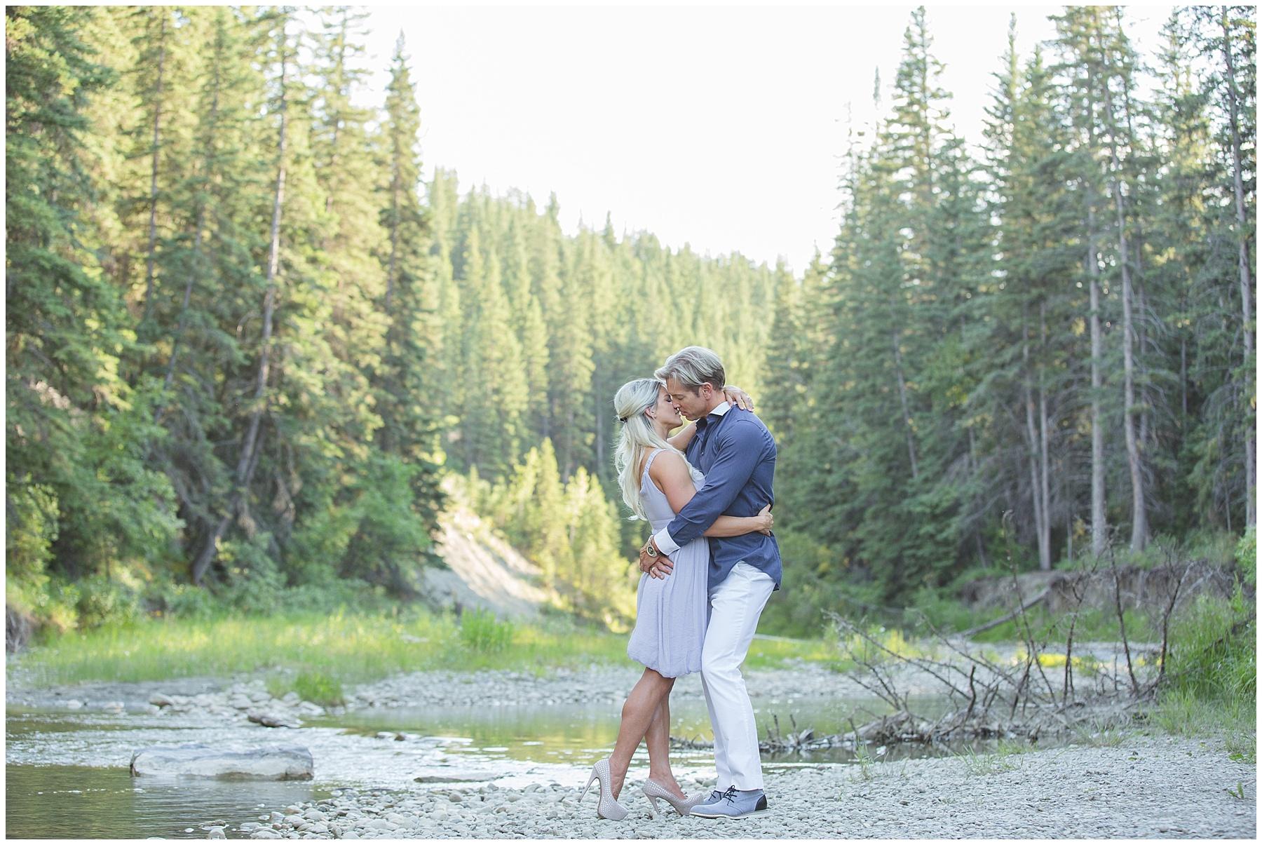 Fish Creek Park Engagement Photography