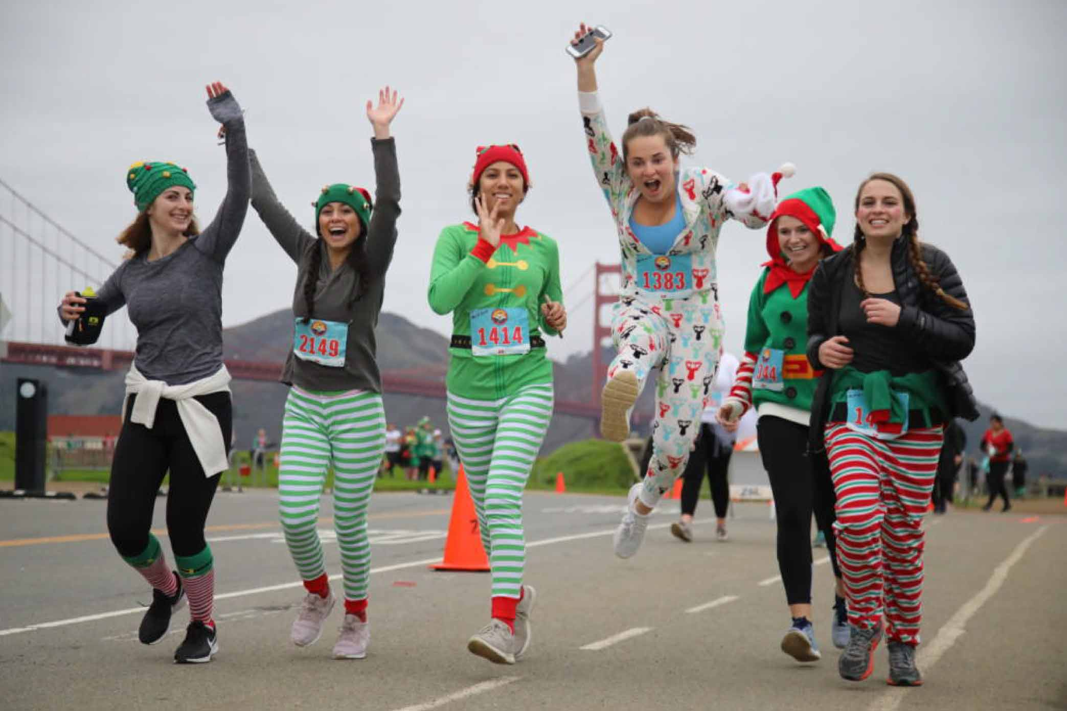 Elf On The Run 5K - December 15th, 2019San Francisco, CA - Crissy Field