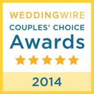 Wedding Wire Award 2014