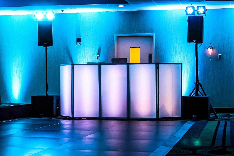 DJ Setup with facade