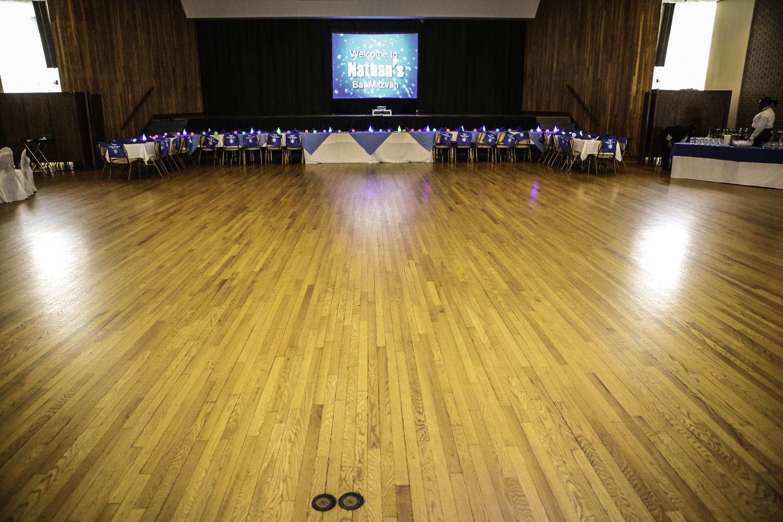 Now that's a HUGE dance floor...