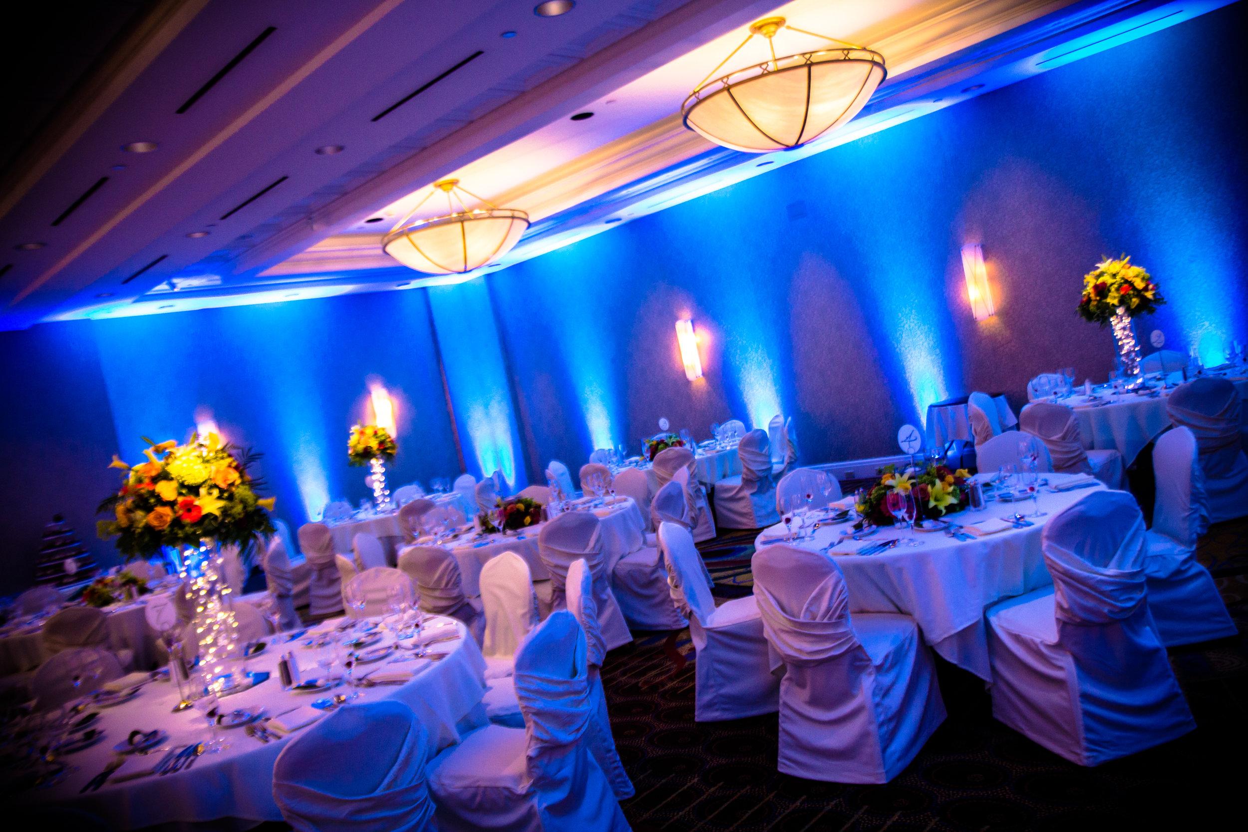 Up Lighting Greece Marriott