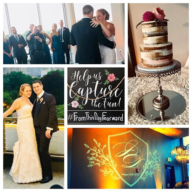 "So excited for David and Jessica! Thank you for letting #SoundExpessDJs be a small part of your BIG day! #FromThisDayFeorward ""It's not what we do, it's how we do it"""